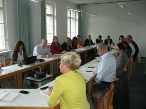 Reflection session in Schwannenwerder